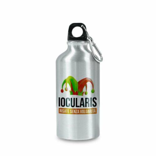 Bottiglia riciclabile in alluminio