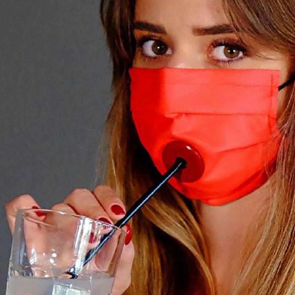 Drinksafe: La mascherina per bere cocktail in sicurezza