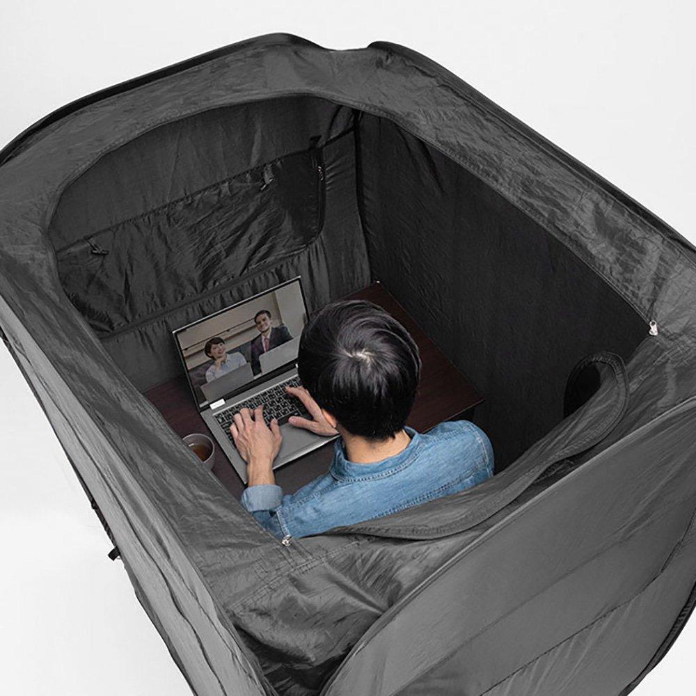 Smart Working: La tenda per isolarsi in casa e lavorare